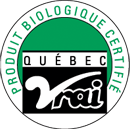 Produit Biologique Certifié Vrai Québec